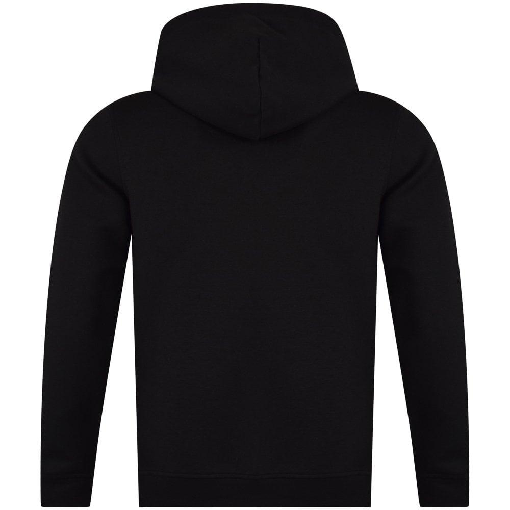 balr hoodie zipped with leather hood