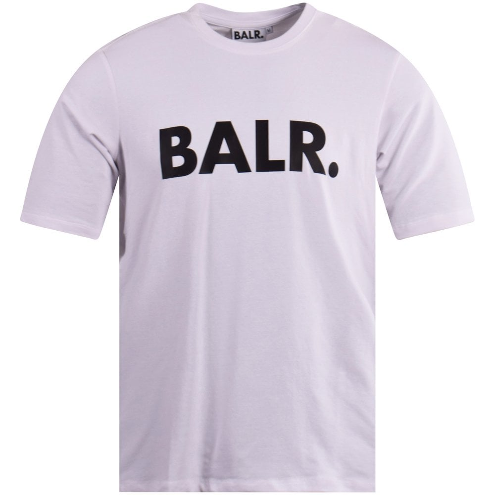 release date preview of best value White/Black Brand Logo T-Shirt