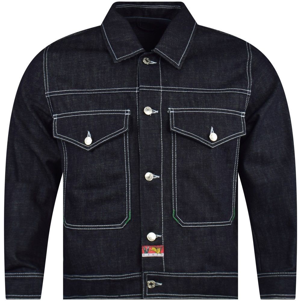 f54123f1c3b6c6 KENZO Bamboo Tiger Denim Jacket - Men from Brother2Brother UK