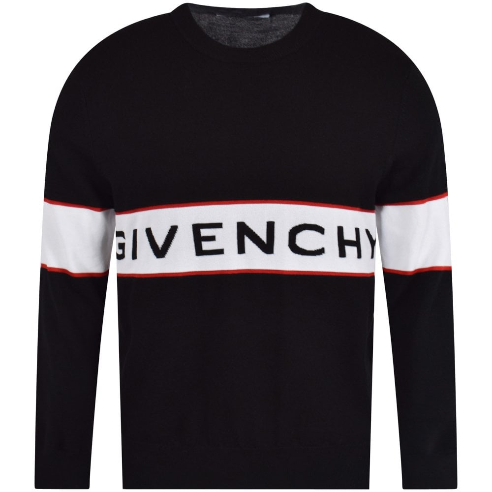 cde5047ac706 GIVENCHY Band Logo Sweater - Men from Brother2Brother UK