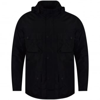 Barbour Black Waterproof Coat