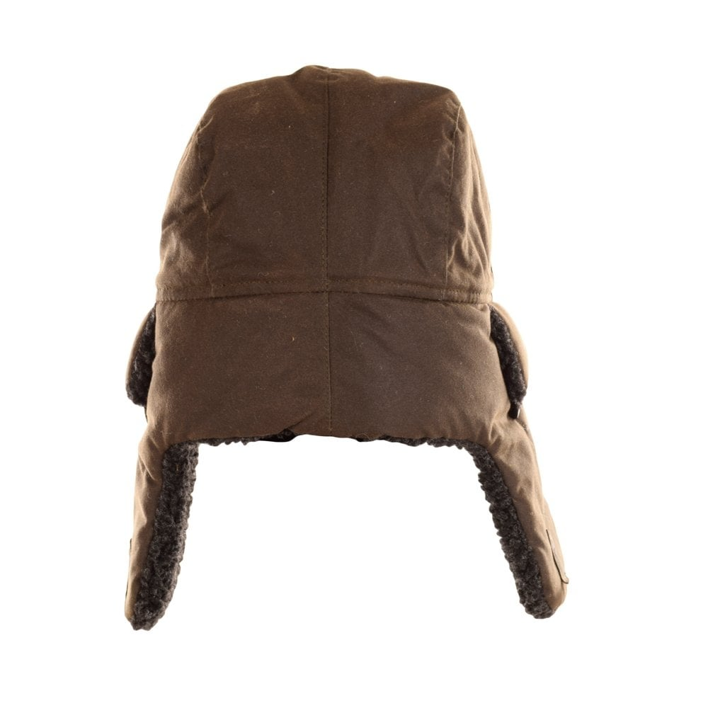 a9d7a71a5c599 BARBOUR HERITAGE Barbour Fleece Lined Olive Trapper Hat - Men from ...