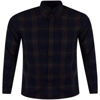 Barbour Checked Long Sleeved Shirt