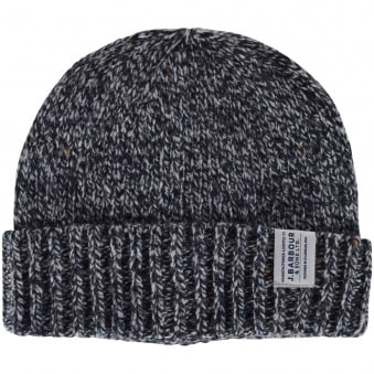 Barbour Grey Whitfield Beanie Hat