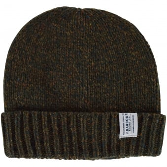 Barbour Olive Whitfield Beanie