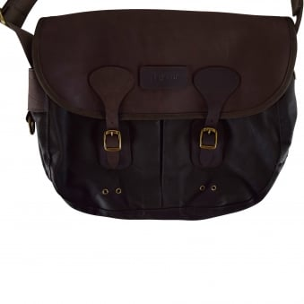 Barbour Wax Leather Tarras Bag