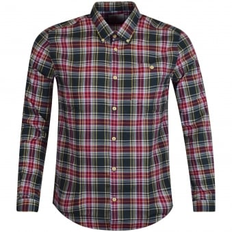 Barbour Heritage Green/Red Checked Shirt
