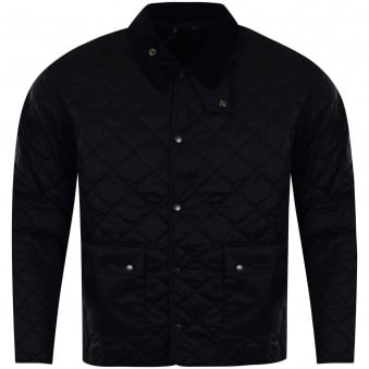 Barbour Heritage Navy Gimbal Quilt Jacket