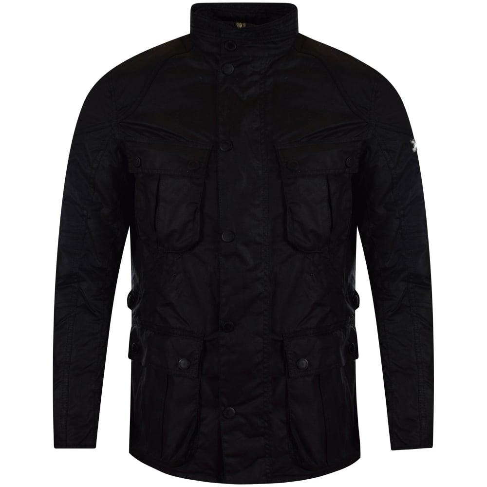Black Barbour Jacket Mens