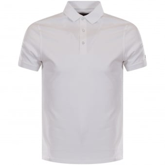 Barbour International White Lydden Polo Shirt