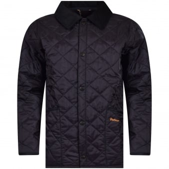 Barbour Junior Navy Liddesdale Quilted Jacket