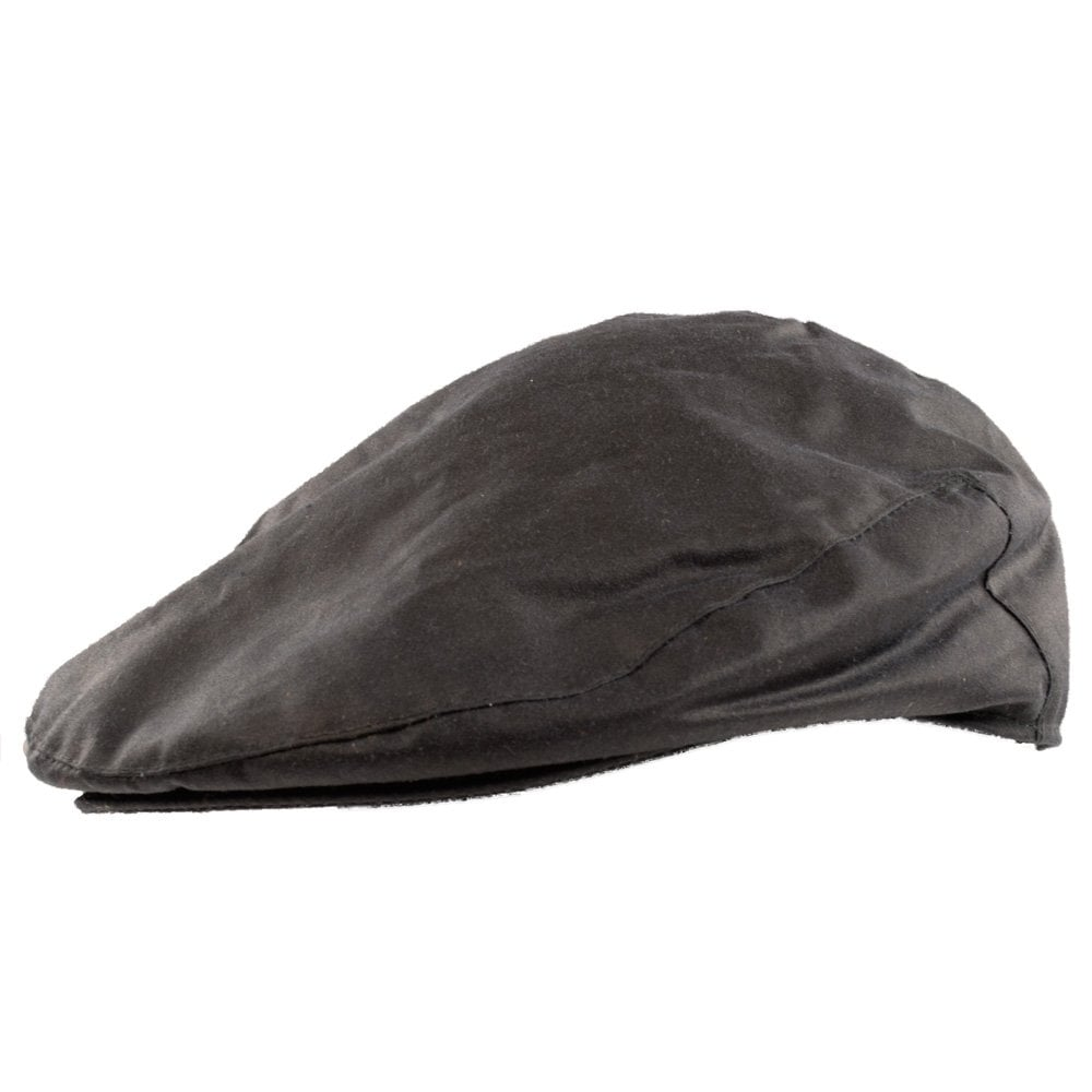 BARBOUR HERITAGE Barbour Navy Wax Flat Cap - Men from Brother2Brother UK f492c4ff81a