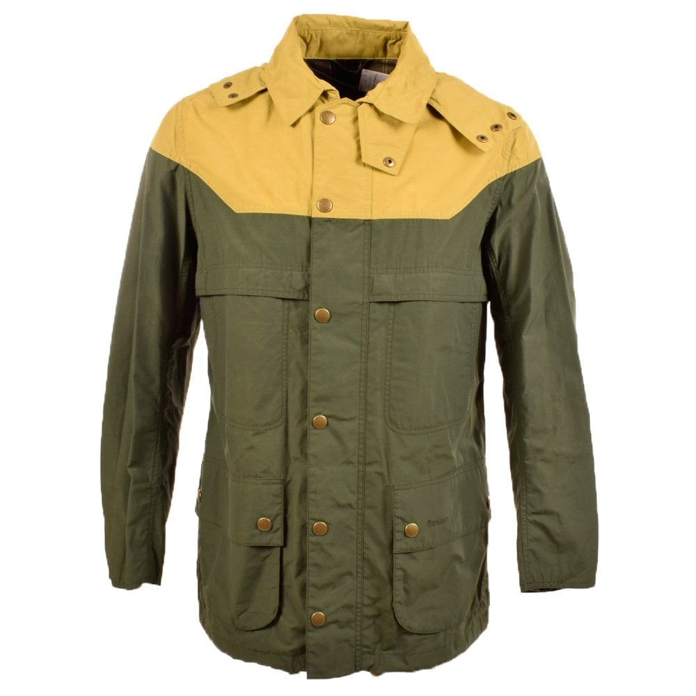 low price sale search for authentic greatvarieties Barbour Thornhill Dark olive/Forest Green Rain Jacket