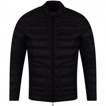 Belstaff Black Halewood Downs Puffer Jacket