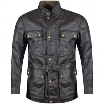 Belstaff Black Roadmaster Jacket