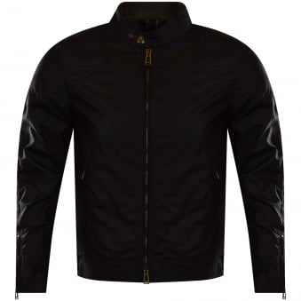 Belstaff Black Waxed 'Outlaws' Jacket