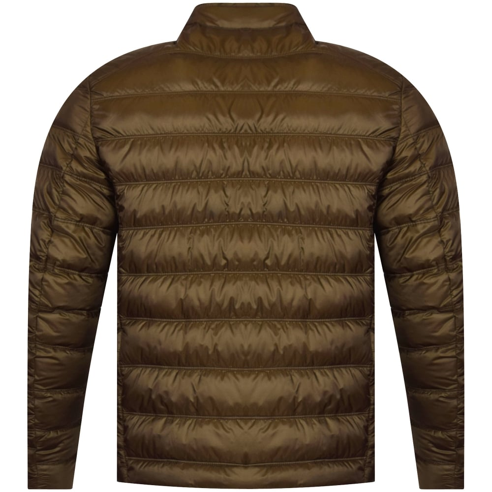 105b408129 BELSTAFF Belstaff Dark Moss Green Halewood Blouson Jacket ...