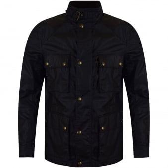Belstaff Navy Trailmaster Jacket