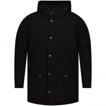 Belstaff Pittfield Windproof Shell Coat In black