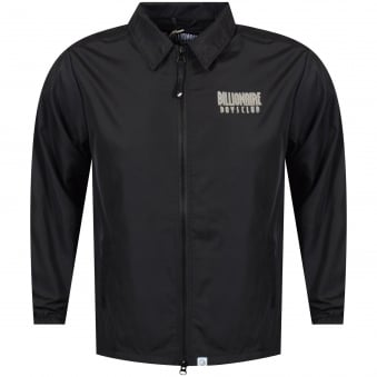 Billionaire Boys Club Black Zip Coach Jacket