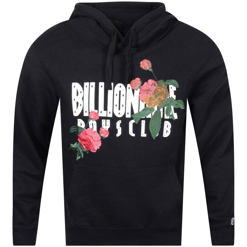 b876bb2327 BILLIONAIRE BOYS CLUB Billionaire Boys Club Floral Logo Hoodie