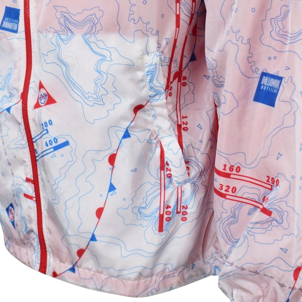 8f5d4f96182e9 BILLIONAIRE BOYS CLUB Nautical Print Nylon Windbreaker Jacket - Men ...