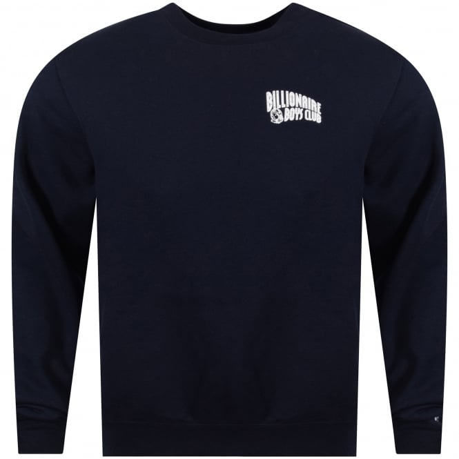 BILLIONAIRE BOYS CLUB Navy Small Arch Logo Sweatshirt