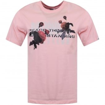 Billionaire Boys Club Pink Peace Through Understanding T-Shirt