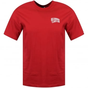 Billionaire Boys Club Red Arc Logo Short Sleeve T-Shirt
