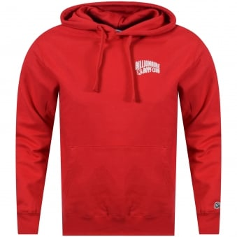 Billionaire Boys Club Red Classic Logo Pullover Hoodie