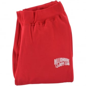 Billionaire Boys Club Red/White Classic Logo Joggers