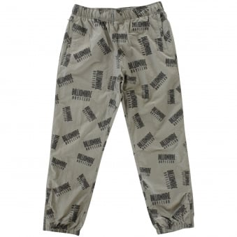 Billionaire Boys Club Repeat Print Dark Grey Track Pant