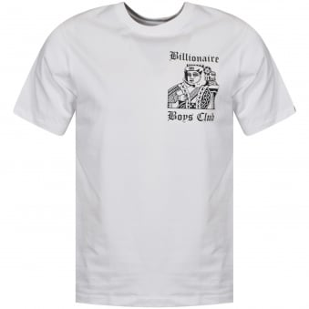 Billionaire Boys Club White/Black Higher Power T-Shirt