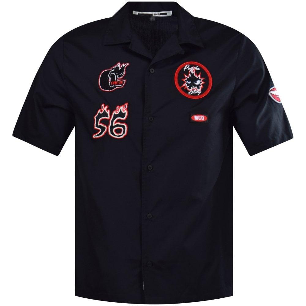 d255468392 McQ by ALEXANDER MCQUEEN Billy Short Sleeve Shirt - Department from ...