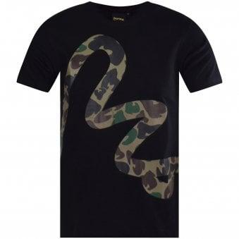 277fb2f9ea82f Black Camo Logo T-Shirt. MONEY CLOTHING ...