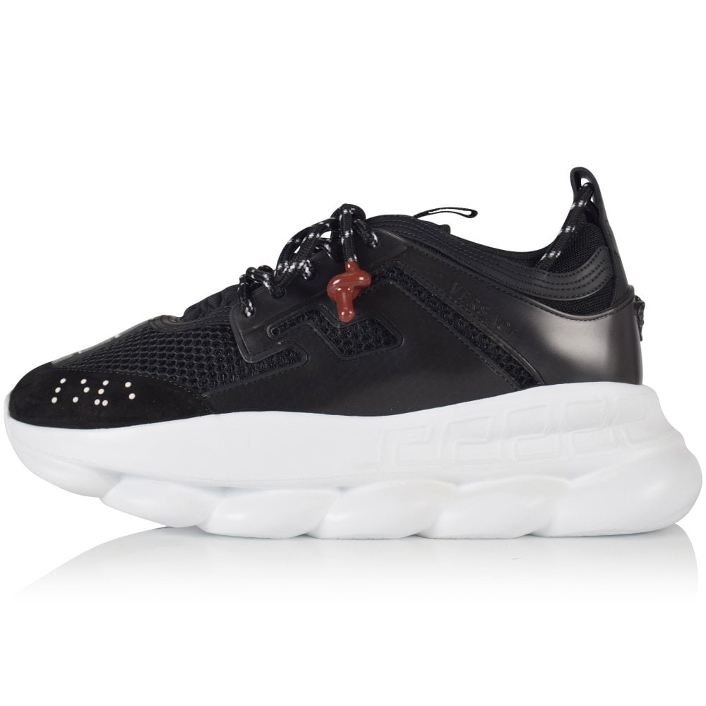 Black Chain Reaction Trainers