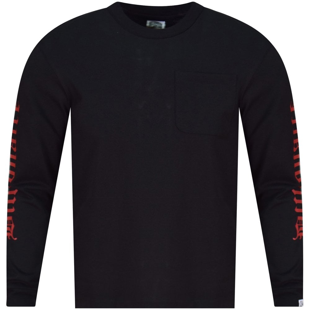 dfd7f15d4f4f BILLIONAIRE BOYS CLUB Black College Long Sleeve Pocket T-Shirt - Men from  Brother2Brother UK