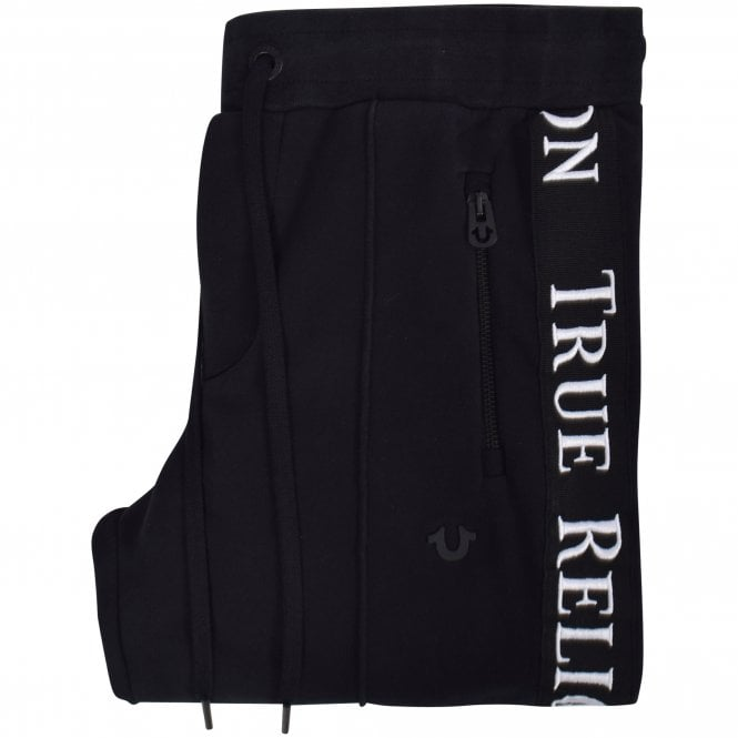 d36d1a006 TRUE RELIGION Black Embroidered Leg Sweatpants - Department from ...