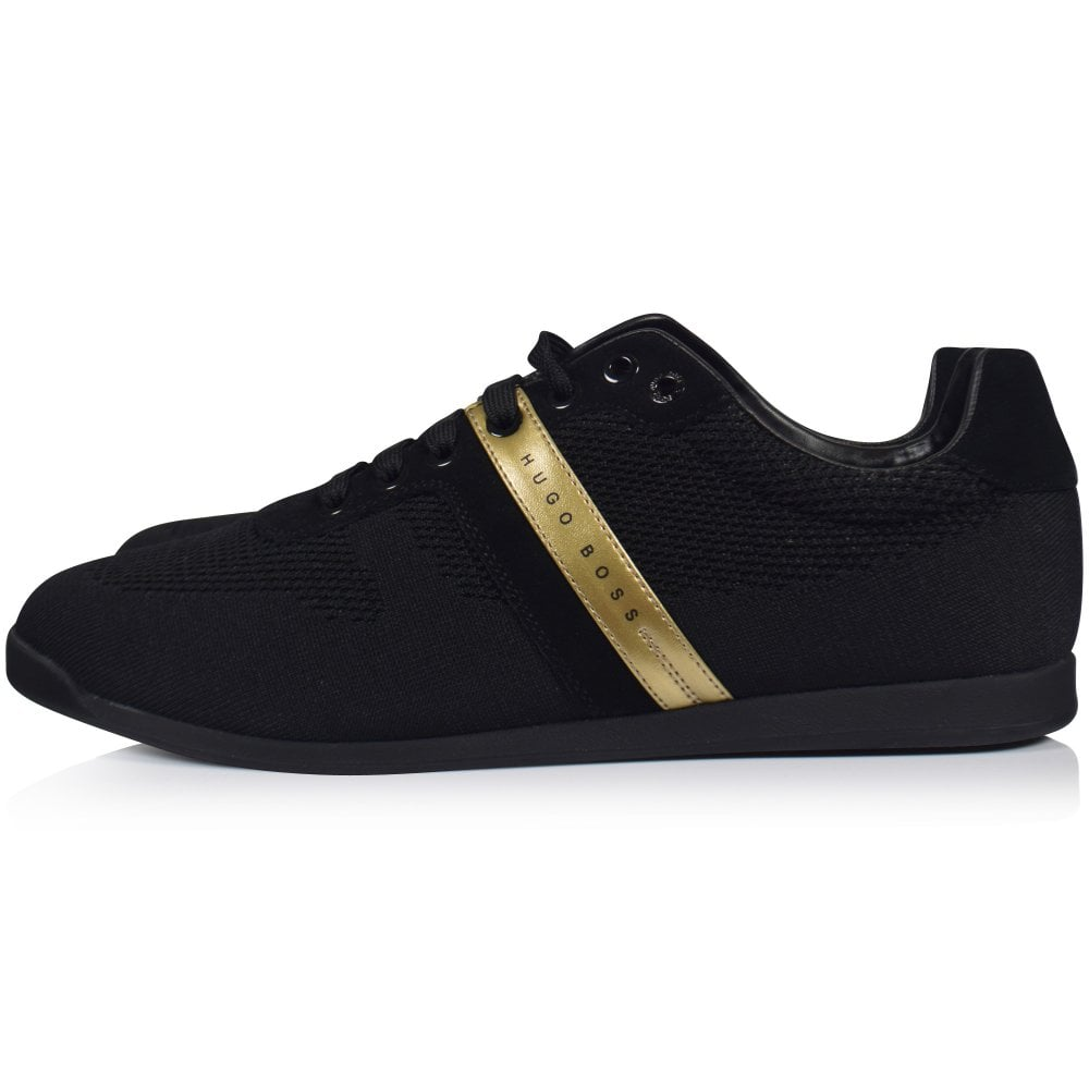 black and gold hugo boss trainers Shop