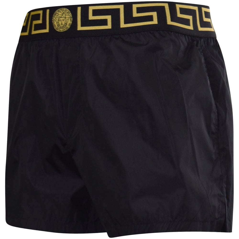 04be751f73 VERSACE Black/Gold Medusa Swim Trunks - Department from Brother2Brother UK