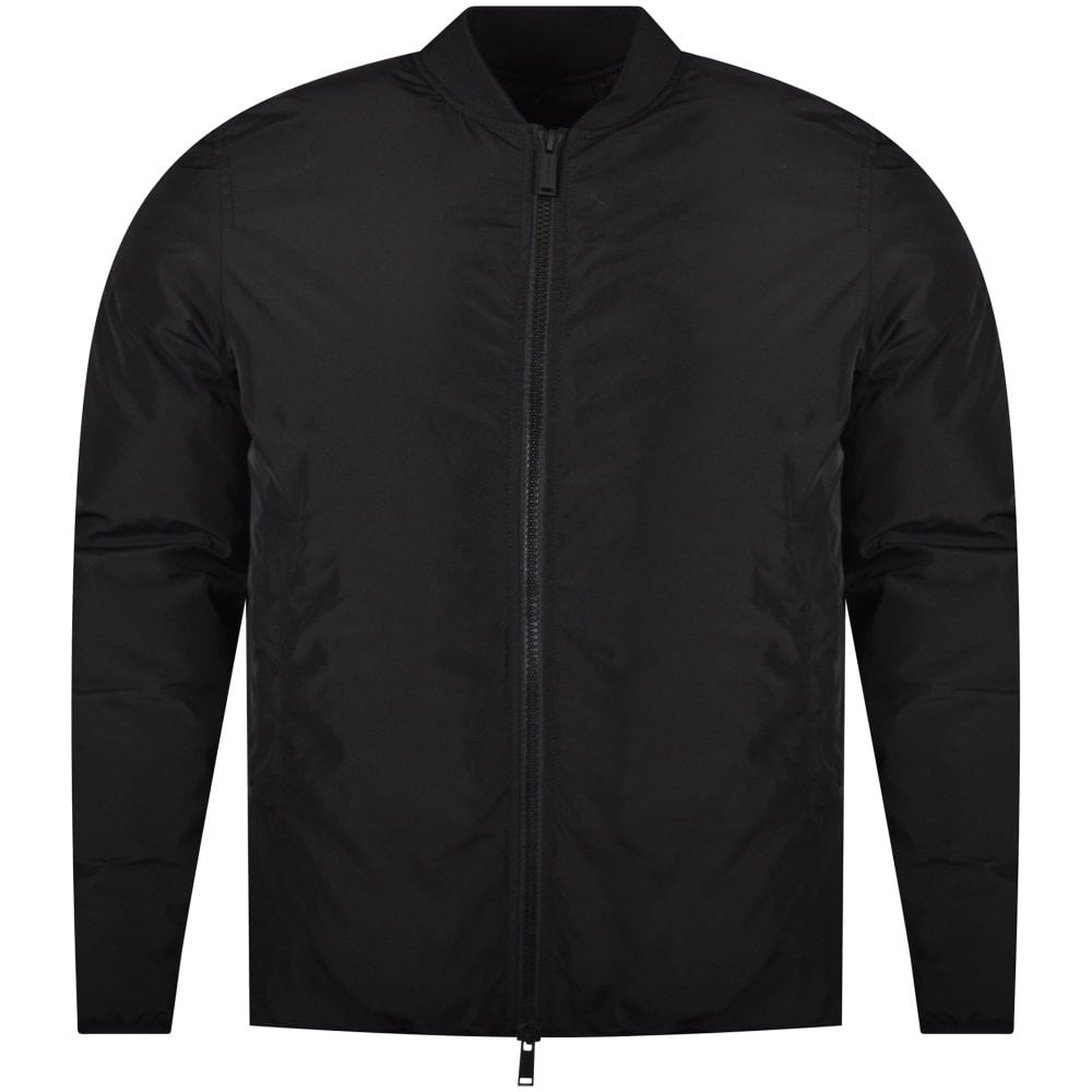 6da28812f6bf DSQUARED2 Black Icon Print Bomber Style Jacket - Men from ...