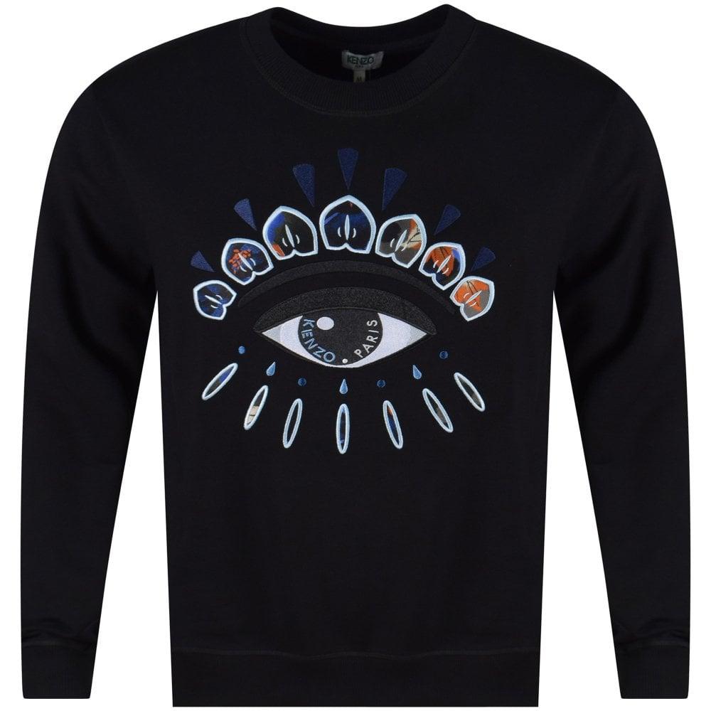 3b9dea8a Black Indonesian Flower Eye Sweatshirt