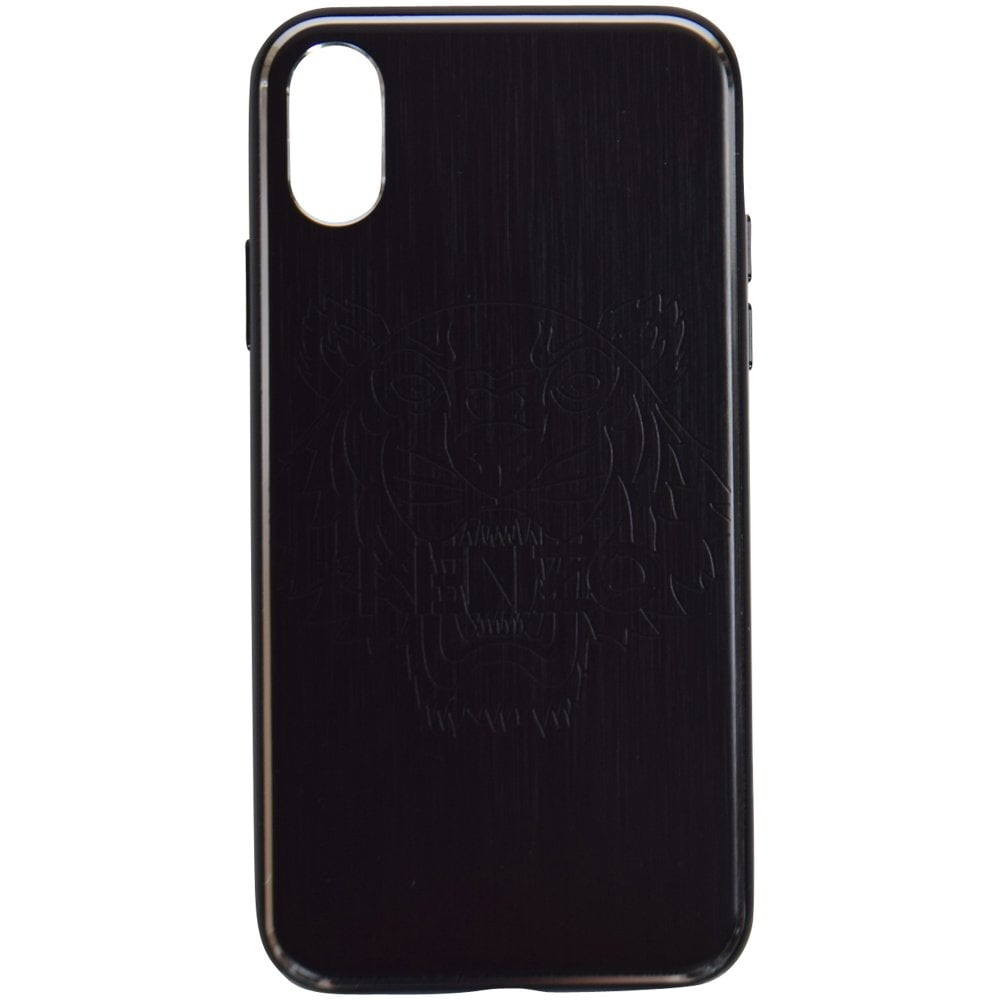 34b5b68c KENZO Black iPhone X Tiger Phone Case - Department from ...