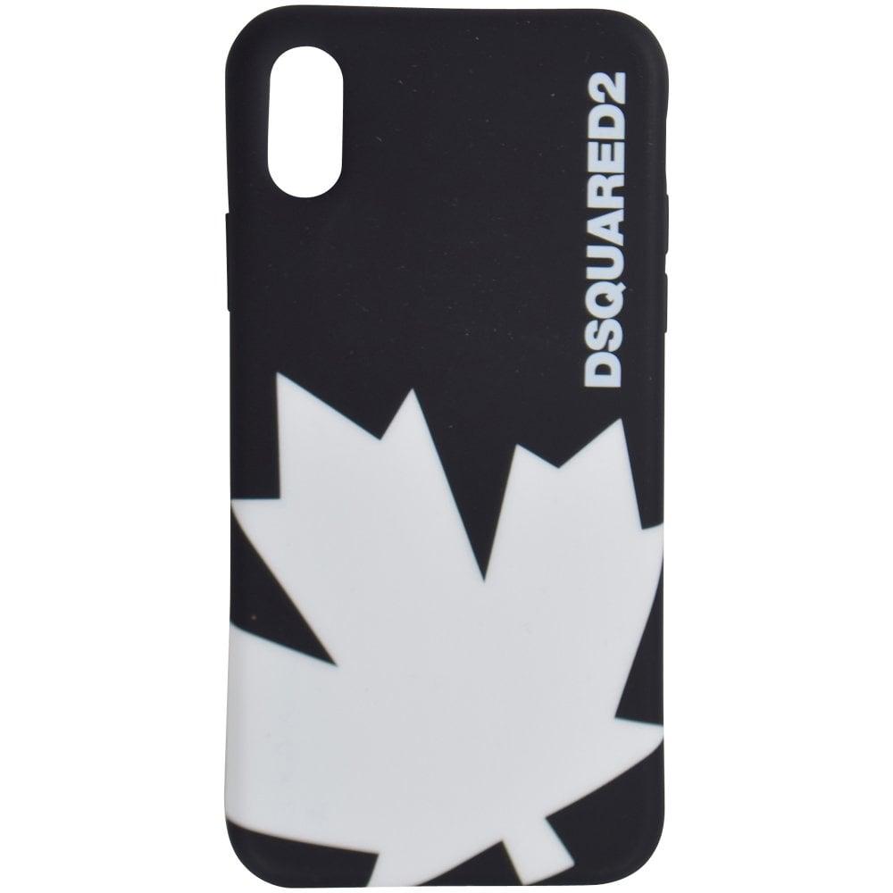best loved 02394 0dd72 Black Leaf iPhone X Phone Case