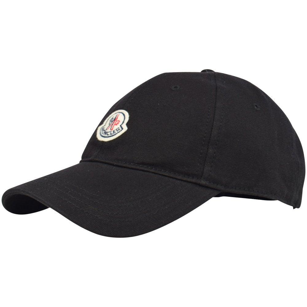 524282e12 Black Logo Patch Cap