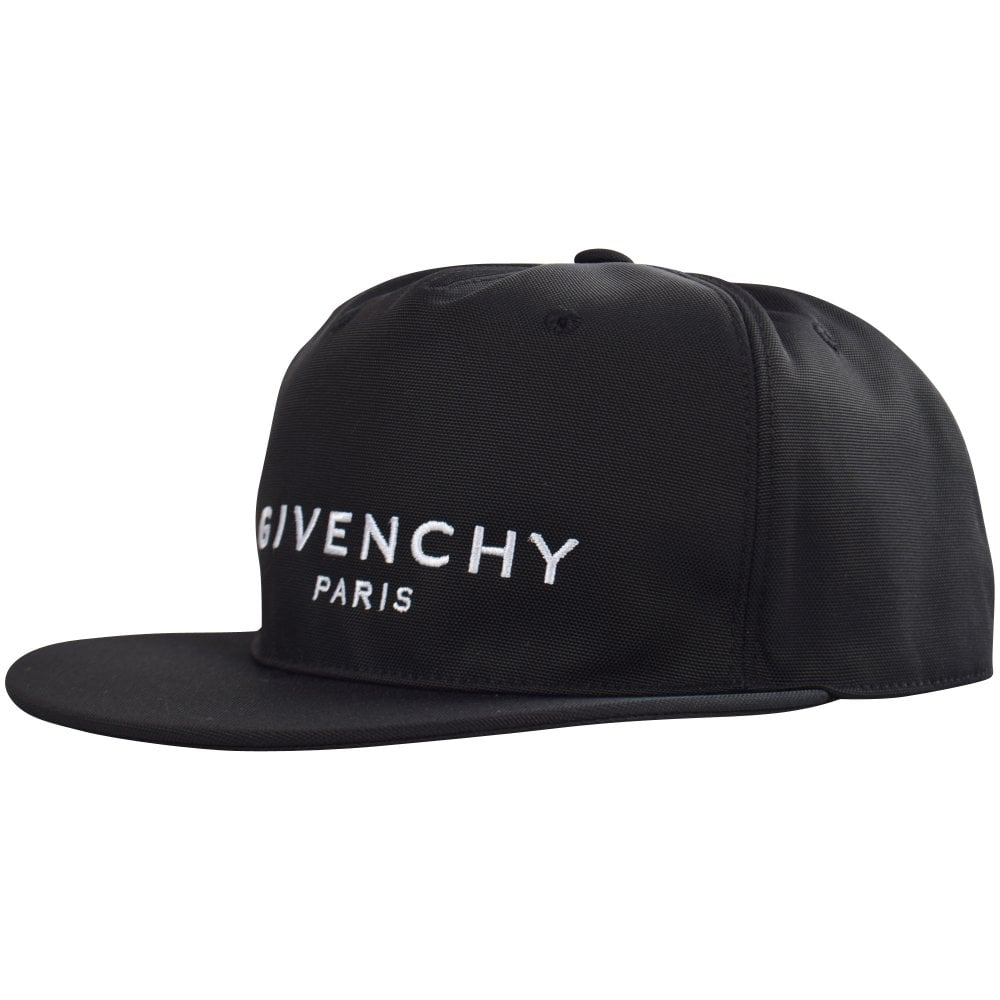 aa91e320185 GIVENCHY Black Logo Snapback - Men from Brother2Brother UK
