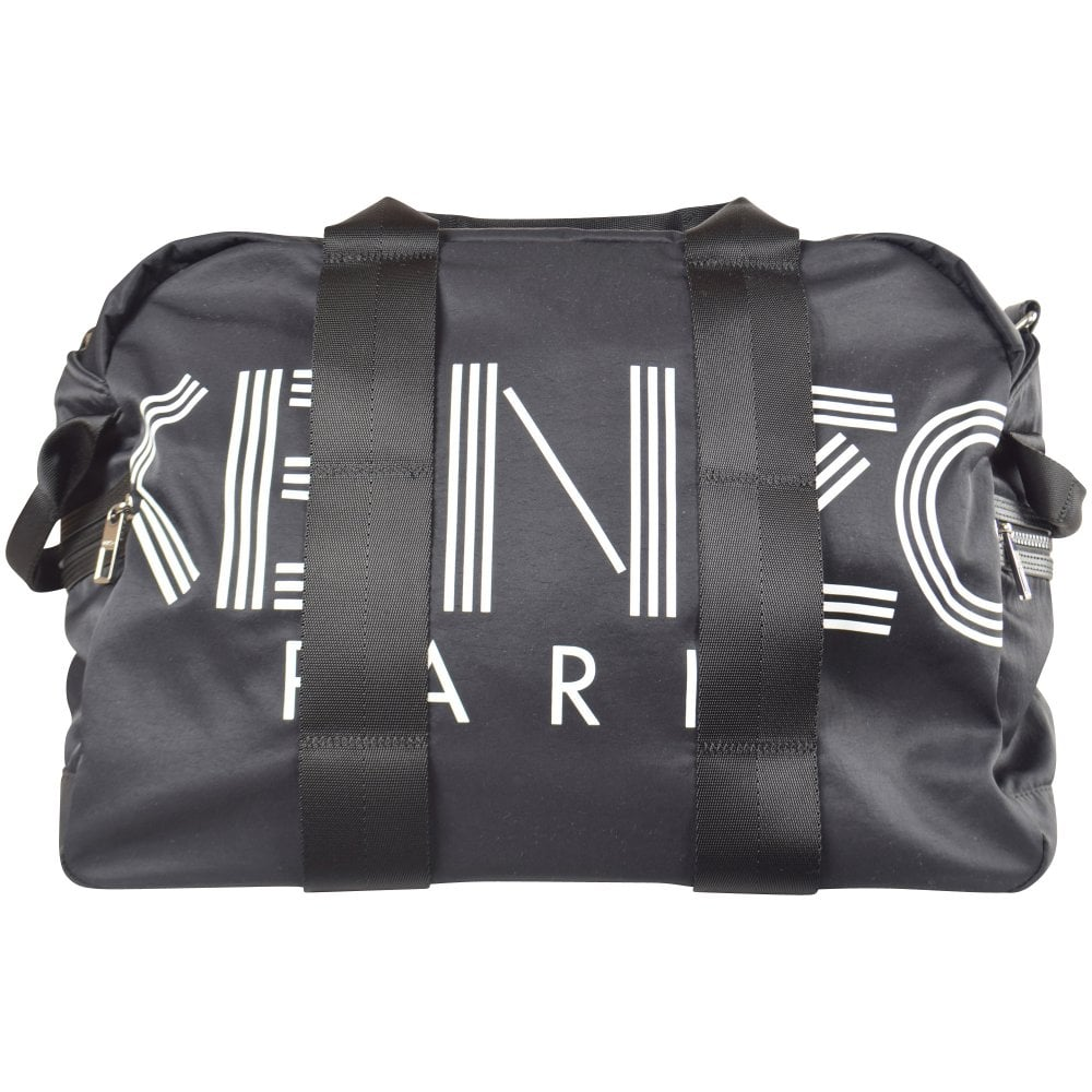 ca584063ea KENZO Black Nylon Logo Weekend Bag - Department from Brother2Brother UK