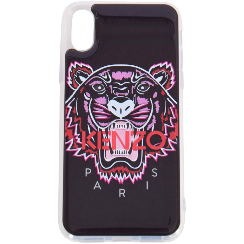5ea26bbea2 KENZO Black/Pink Tiger iPhone X/XS Phone Case