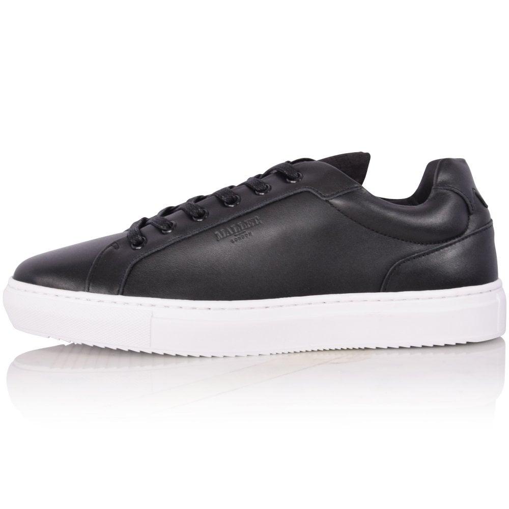 MALLET FOOTWEAR Black Rhoda Leather