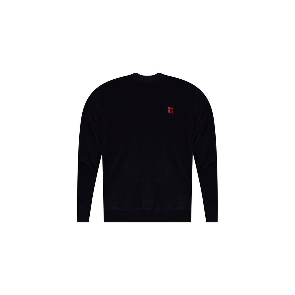 4d2f9433 GIVENCHY Black Sweatshirt - Department from Brother2Brother UK